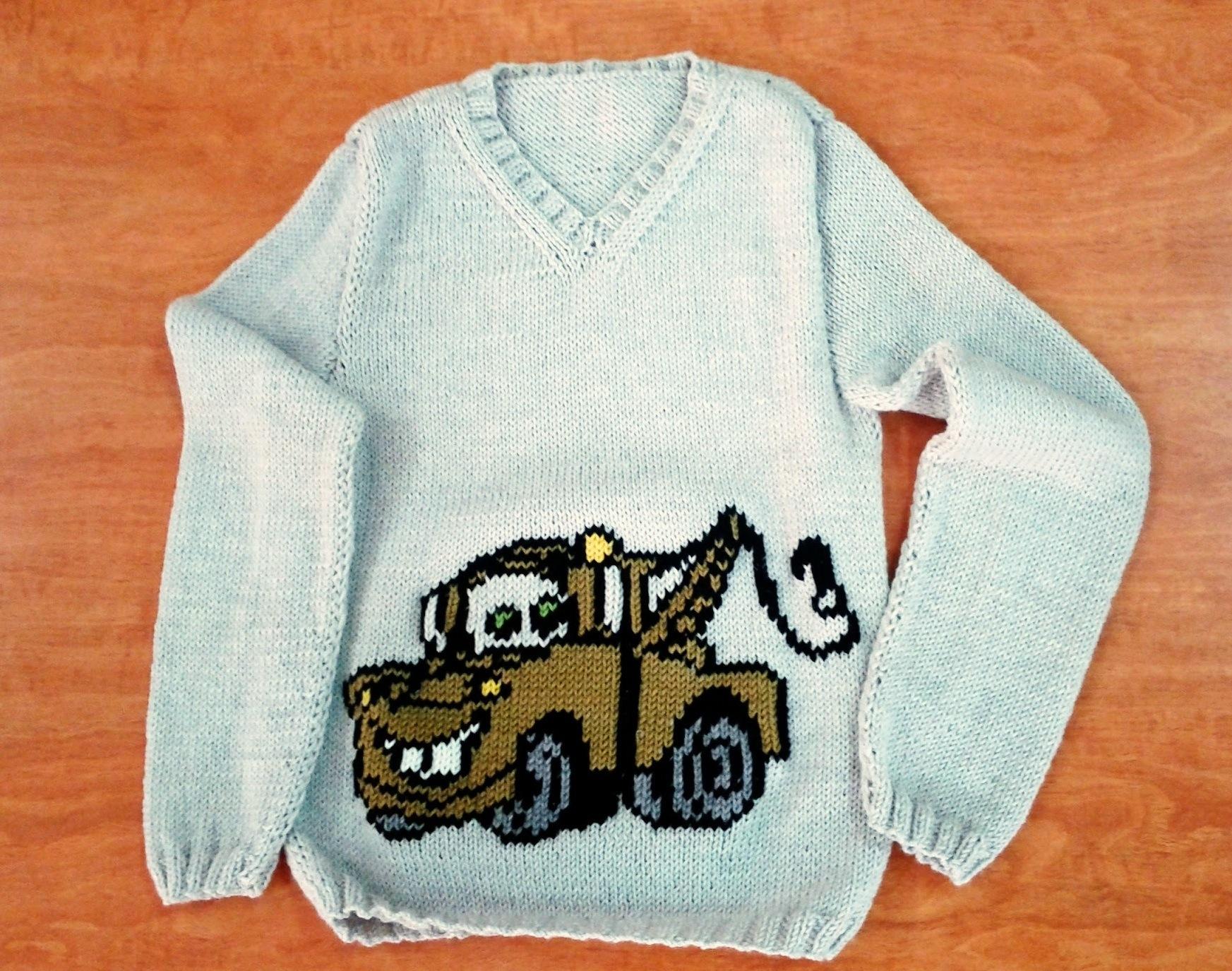 Bordado de jerseys | El Hogar de las lanas