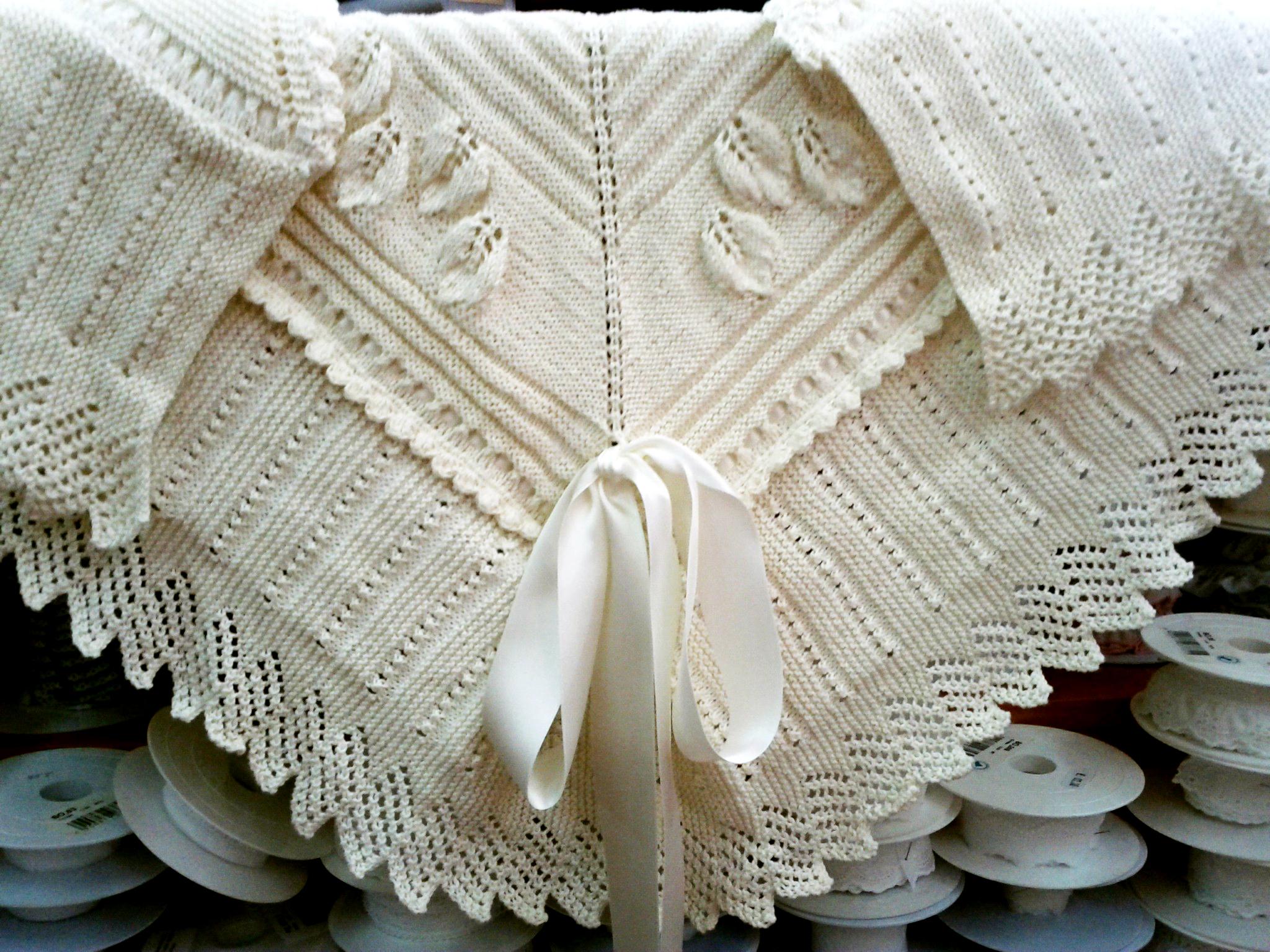 Mantón para bebe | El Hogar de las lanas