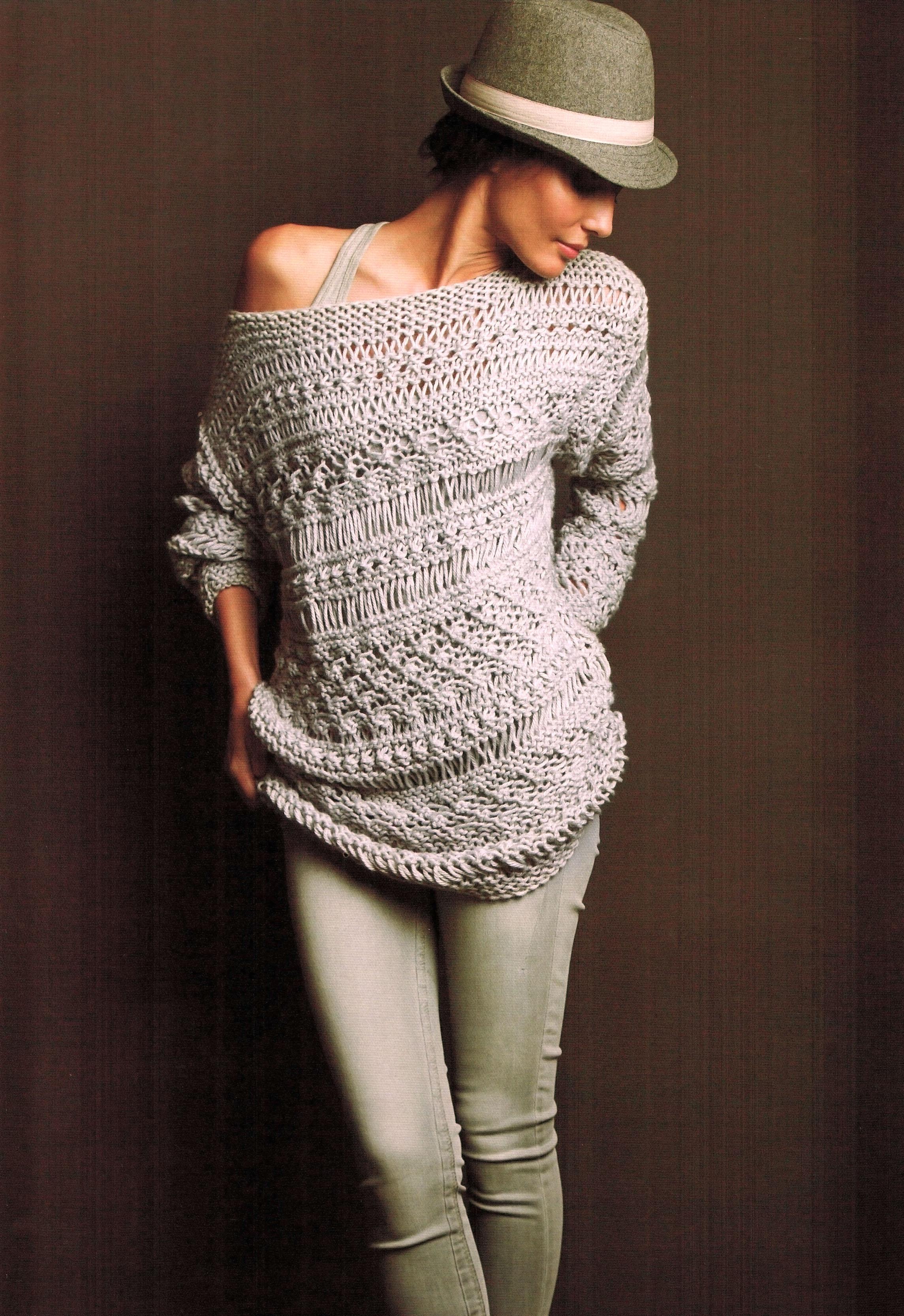 Como hacer jersey de lana para mujer aztec sweater dress - Como hacer punto de lana para principiantes ...
