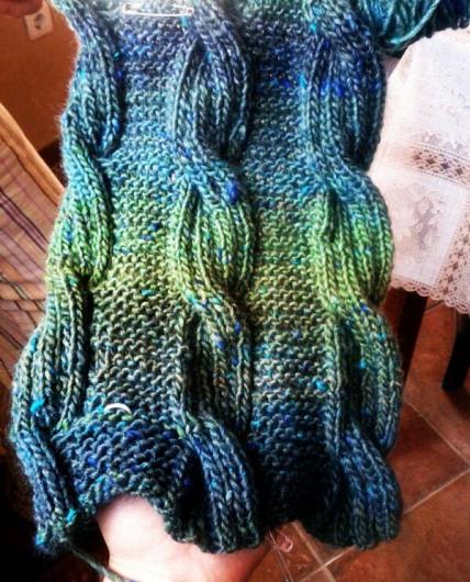 Cuello chico lana