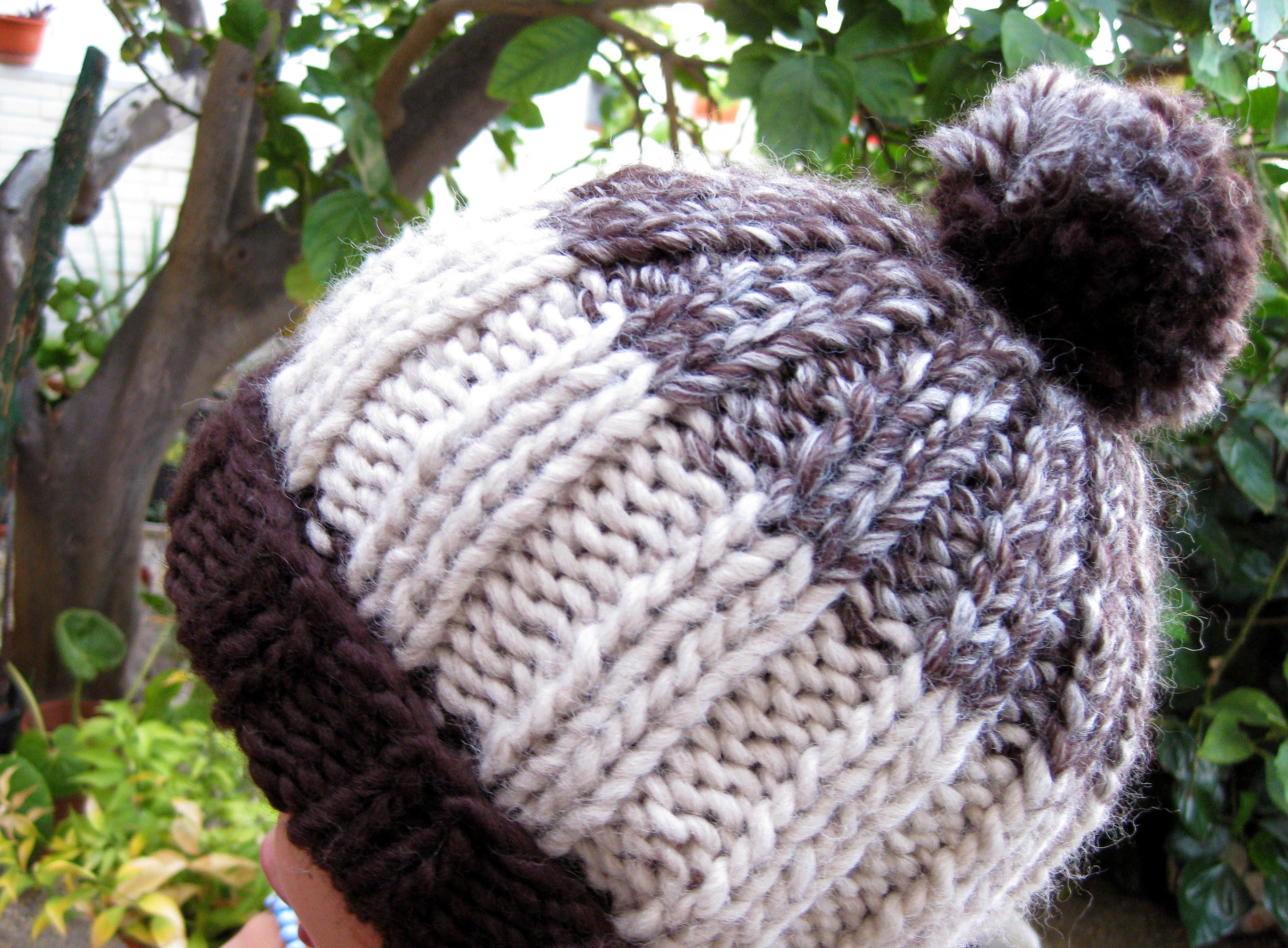 ... los patrones de Katia para realizar un gorro de crochet con Cap Basic