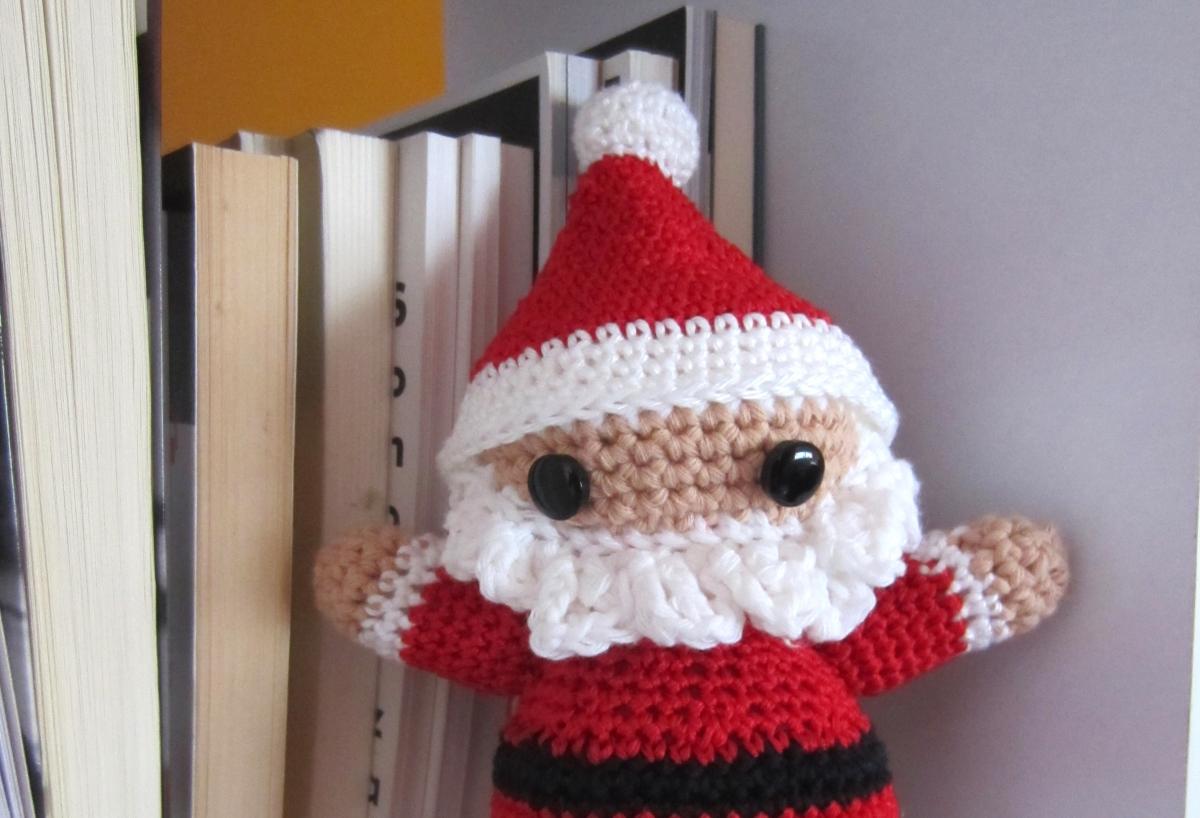 Amigurumi para Navidad, Papá Noel   El Hogar de las lanas