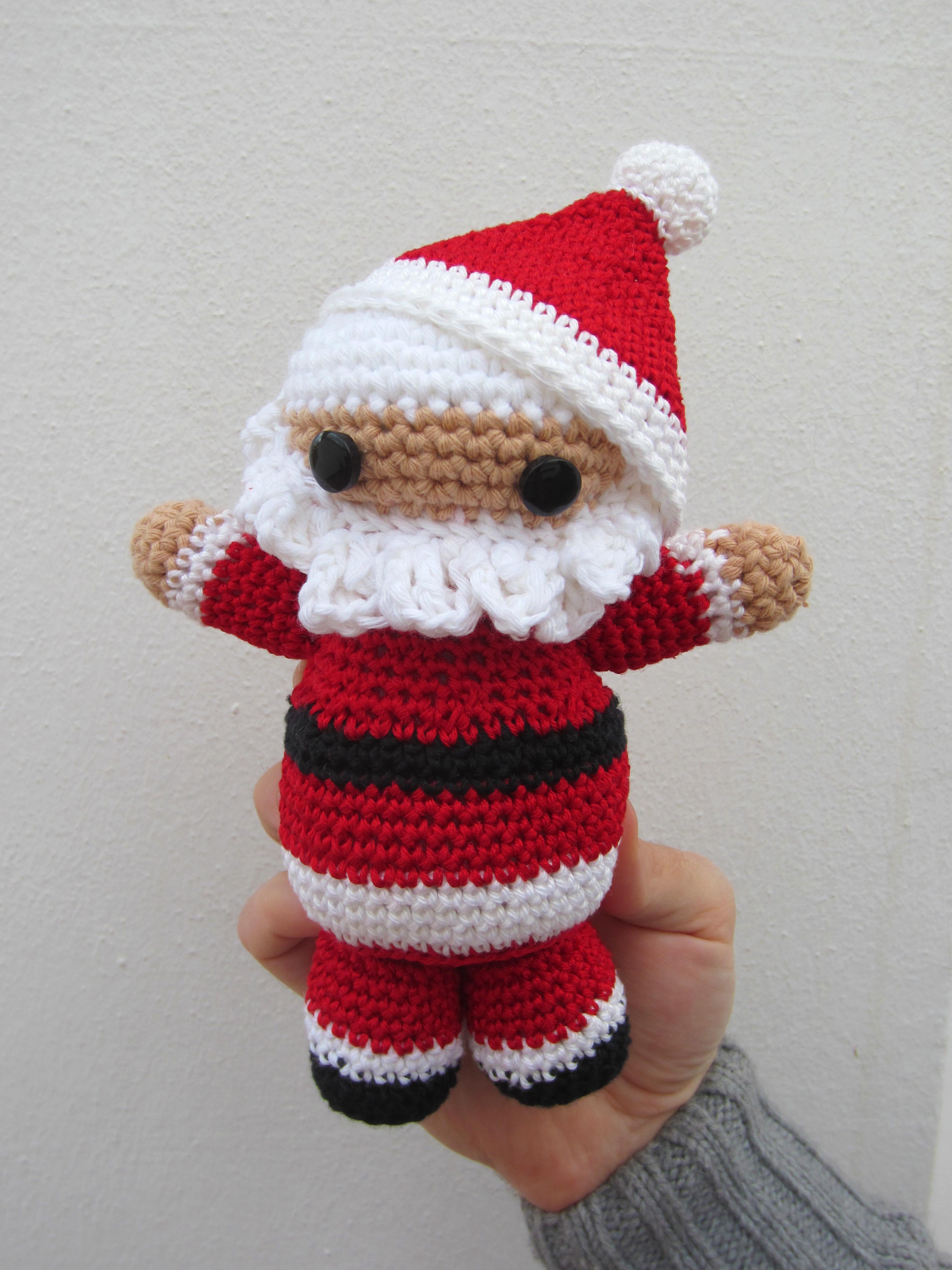 Kit Amigurumi Navidad : Amigurumi para Navidad, Papa Noel El Hogar de las lanas