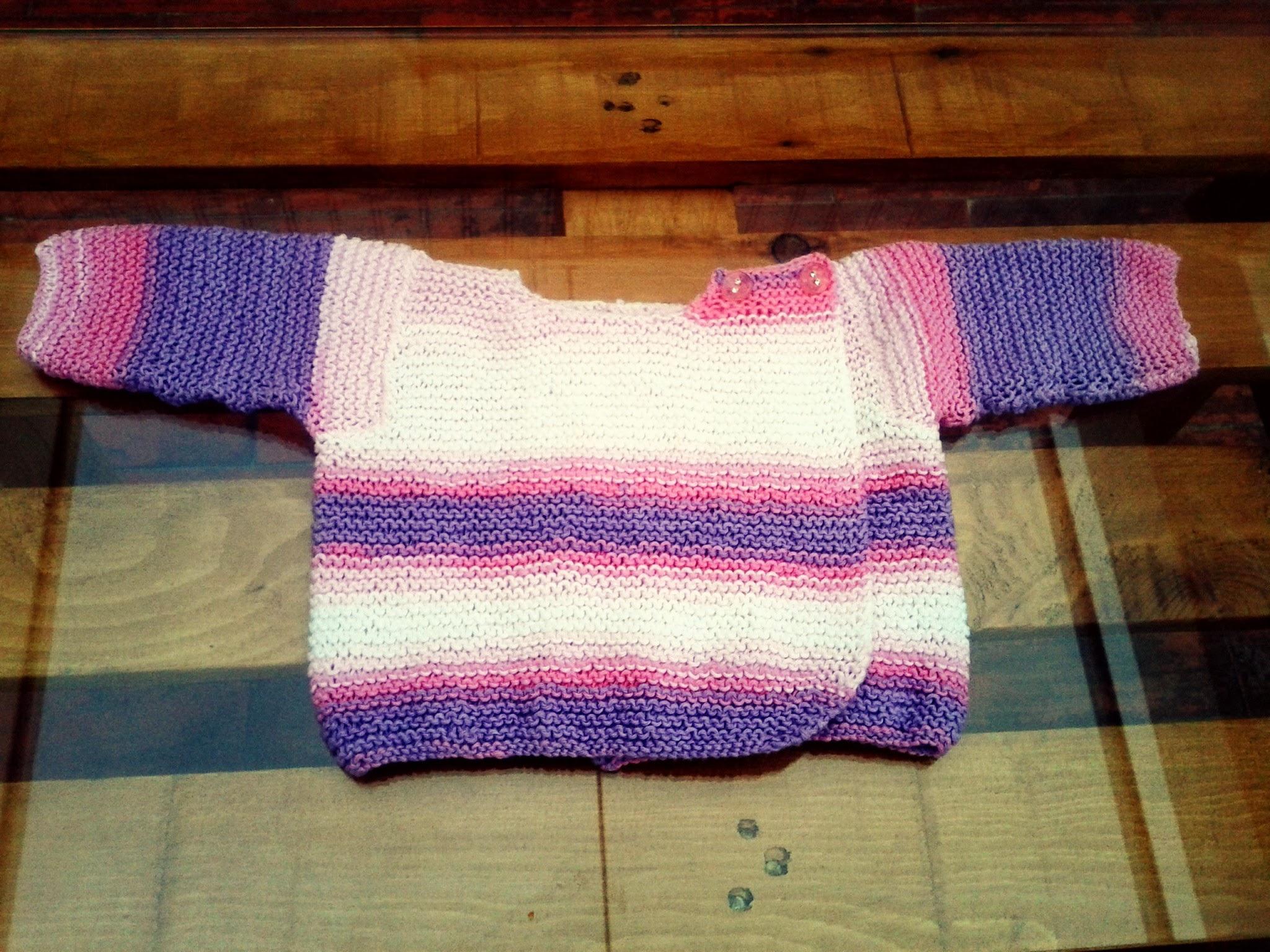 Patrón Chaqueta para bebe | El Hogar de las lanas