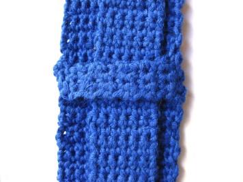 trasera azul