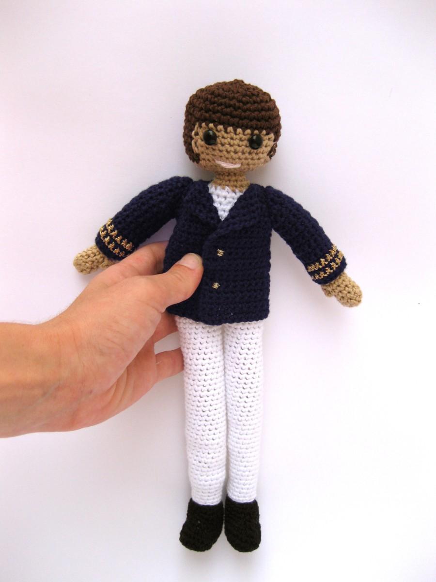 Muñeco de Comunión a crochet