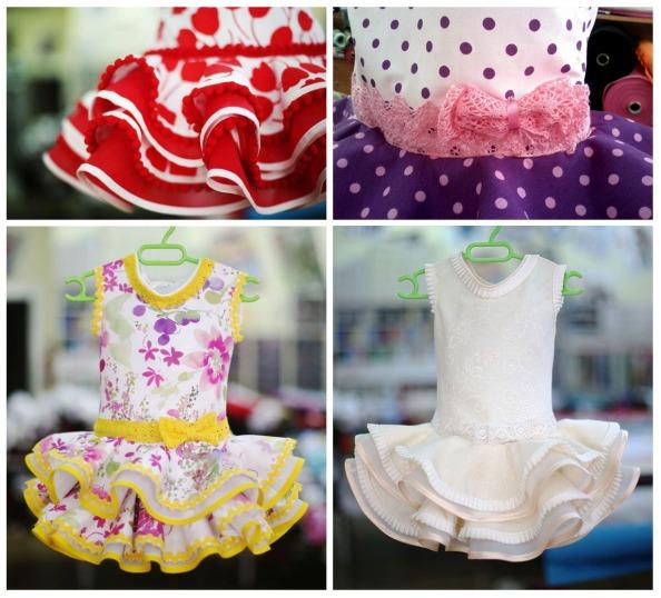 vestidos gitana niñas