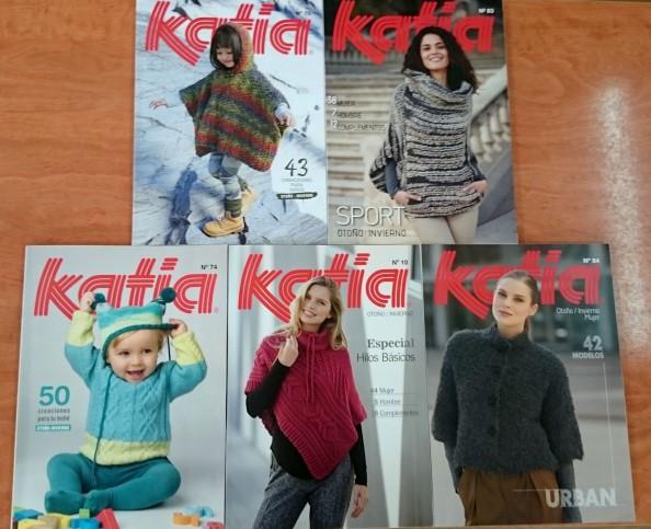Revistas Tejido Katia